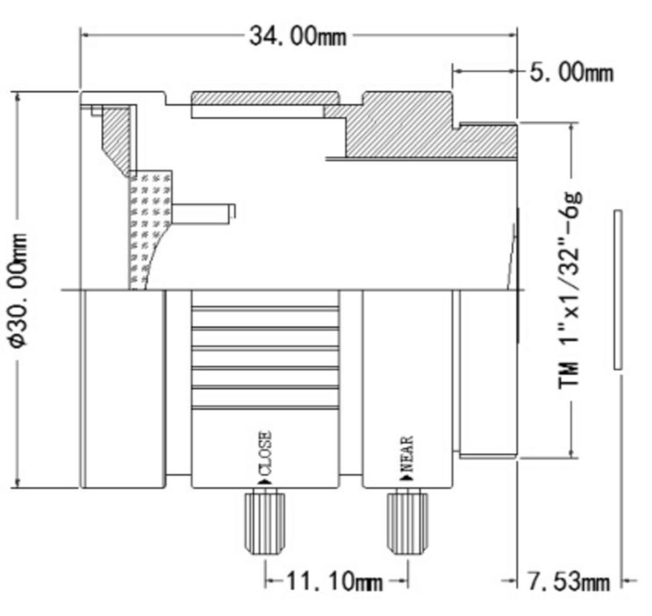 6mm Wide Angle Lens for Raspberry Pi HQ Camera Australian Schematic